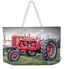 Antique Tractor Pullers Weekender Tote Bag by Marion Johnson