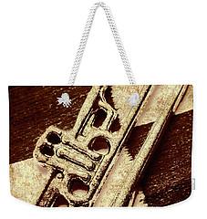 Antique Trumpet Club Weekender Tote Bag