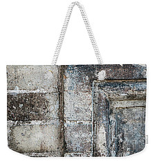 Weekender Tote Bag featuring the photograph Antique Wall Detail by Elena Elisseeva