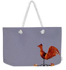 Antique Weathercock Weekender Tote Bag