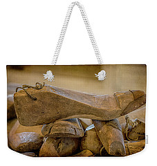 Antique Wooden Shoe Forms - 2 Weekender Tote Bag
