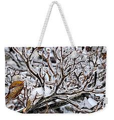 Antlers Of Ice Weekender Tote Bag