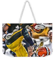 Antonio Brown Steelers Art 5 Weekender Tote Bag