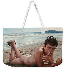 Antonio En La Playa Weekender Tote Bag