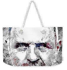 Antony Hopkins Weekender Tote Bag by Mihaela Pater