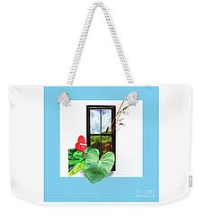 Anthurium Weekender Tote Bag