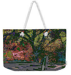 Colorfication - Treescape My Backyard  Weekender Tote Bag