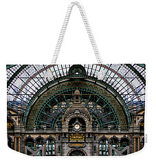 Antwerp Train Terminal Weekender Tote Bag