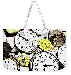 Anybody Really Know What Time It Is Weekender Tote Bag