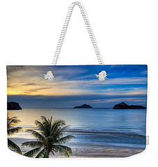 Weekender Tote Bag featuring the photograph Ao Manao Bay by Adrian Evans