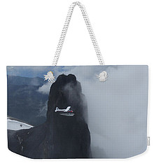 Aop At Black Tusk Weekender Tote Bag by Mark Alan Perry