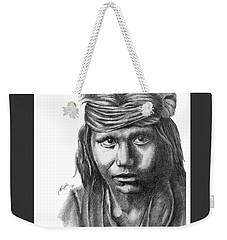 Apache Boy Weekender Tote Bag