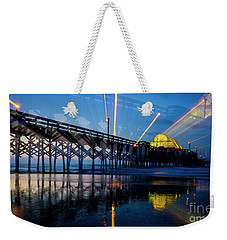 Apache Pier Weekender Tote Bag by David Smith