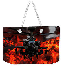Apache Wall Of Fire Weekender Tote Bag