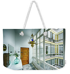 Weekender Tote Bag featuring the photograph Apartment In The Heart Of Cadiz 17th Century Cadiz by Pablo Avanzini