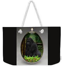 Ape Gorilla Art Weekender Tote Bag