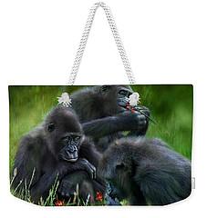 Ape Moods Weekender Tote Bag by Carol Cavalaris