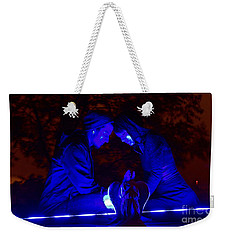 Weekender Tote Bag featuring the photograph Apocalyptic Love by Xn Tyler