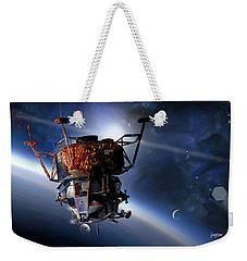 Apollo 9 Lunar Module Weekender Tote Bag