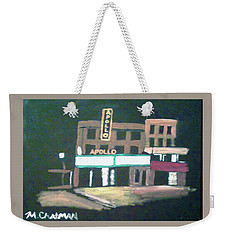 Apollo Theater New York City Weekender Tote Bag