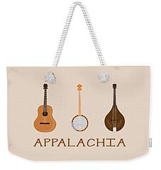 Appalachia Music Weekender Tote Bag by Heather Applegate