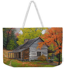 Appalachian Retreat-autumn Weekender Tote Bag