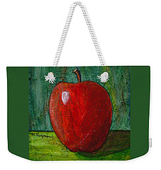 Apple #4 Weekender Tote Bag