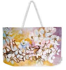 Apple Blooms Weekender Tote Bag