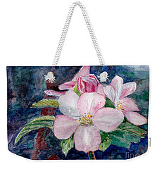 Apple Blossom - Painting Weekender Tote Bag