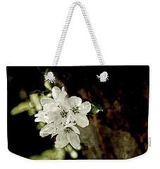 Apple Blossom Paper Weekender Tote Bag