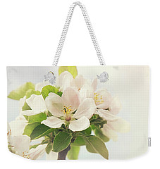 Apple Blossom Retro Style Processing Weekender Tote Bag