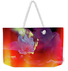 Apple Blossoms Weekender Tote Bag by Elaine Hunter