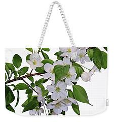 Apple Blossoms Weekender Tote Bag