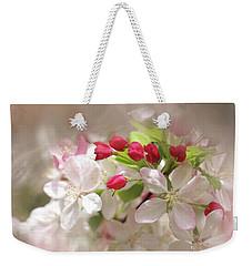 Apple Buds Weekender Tote Bag