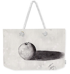Apple Weekender Tote Bag by David Jackson