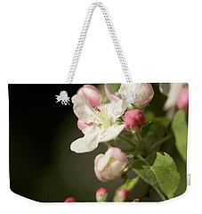 Apple Flower And Buds Weekender Tote Bag