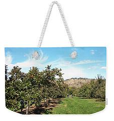 Apple Picking Weekender Tote Bag