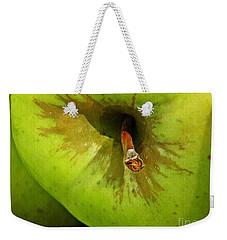 Apple Weekender Tote Bag