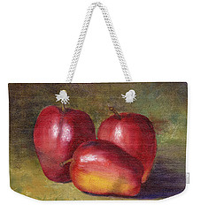 Apple Still Life Weekender Tote Bag