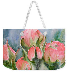Apple Tree Buds Weekender Tote Bag