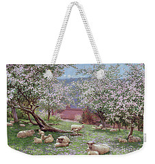 Appleblossom Weekender Tote Bag by William Biscombe Gardner