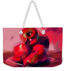 Apples And Pears Weekender Tote Bag by Jim Vance