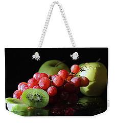 Apples, Grapes And Kiwi  Weekender Tote Bag