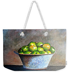 Apples In A Rusty Bucket Weekender Tote Bag