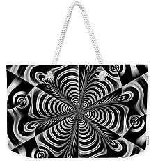 Weekender Tote Bag featuring the digital art Apprecious by Andrew Kotlinski