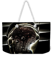 Weekender Tote Bag featuring the photograph Approach by Eric Christopher Jackson