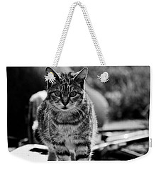 Weekender Tote Bag featuring the photograph Approaching  by Chriss Pagani