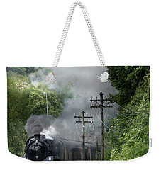 Approaching Ingrow West Station Weekender Tote Bag
