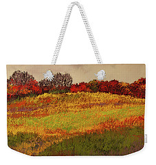 Weekender Tote Bag featuring the photograph Approaching Magpie Forest by David Patterson