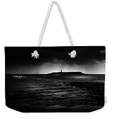 Approaching Storm, Ailsa Craig And Pladda Island Weekender Tote Bag